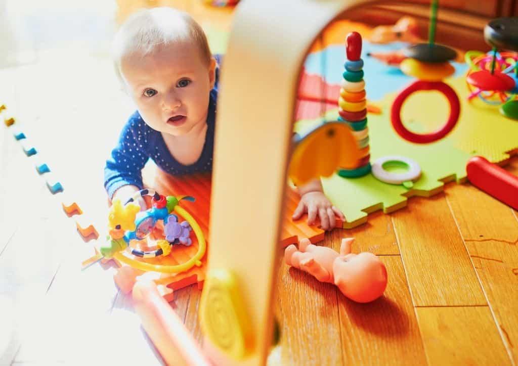Pour apprendre l'anglais à bébé, un accueil dans une crèche bilingue est une solution